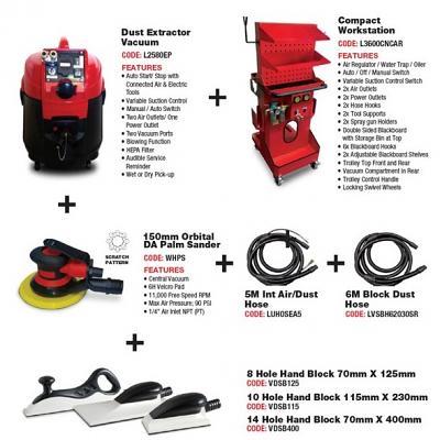 Velocity Combination Vacuum Kits