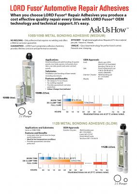 Fusor 108B Metal Bonding Adhesive (Medium) 225ml