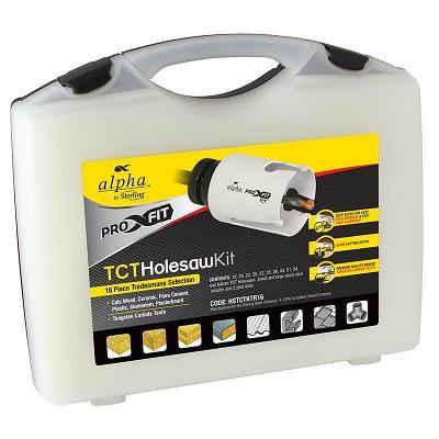 16pce TCT Multi-Purpose Holesaw Kit