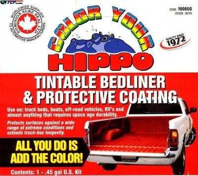 Dominion Sure Seal Colour Your Hippo-Liner Truck Bed Liner Kit