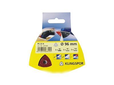 Klingspor Abrasives Self-Fastening 96mm DIY