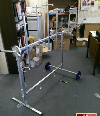 Rotating Paint Panel Stand