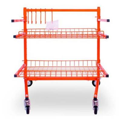 Parts Cart With 2 Shelves