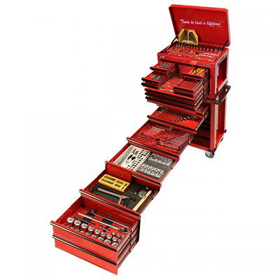 409 Piece Combination Box & Roll Cabinet Tool Kit