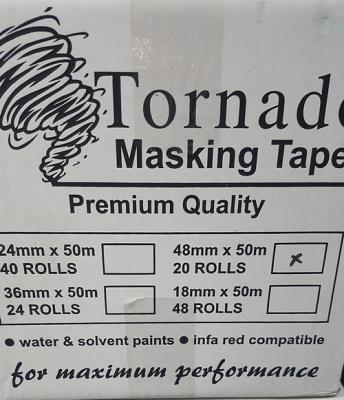 Tornado Premium Orange Masking Tape 18mm - 36mm - 48mm