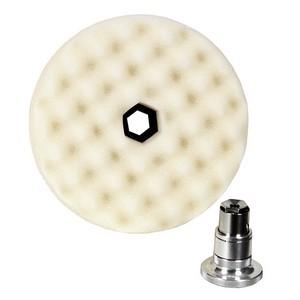 3M Perfect-It Foam Compounding Pad, 6 inch, White