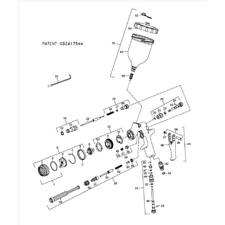 Devilbiss Hvlp Spray Gun Parts Diagram Search For Wiring Diagrams