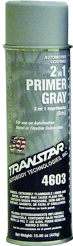 Transtar 2 In 1 Gray Primer Aerosol 20 oz.