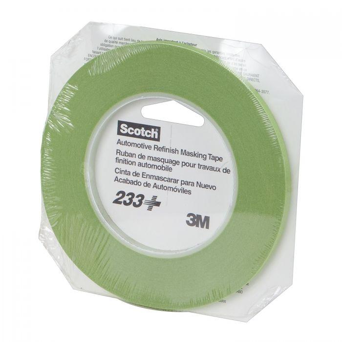 3M Performance Green Masking Tape 233+6MM Roll