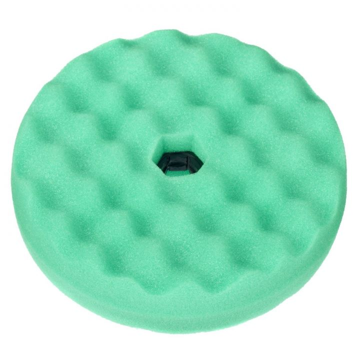 3M Quick Connect Double Sided Convoluted Foam Compounding Pad - Green