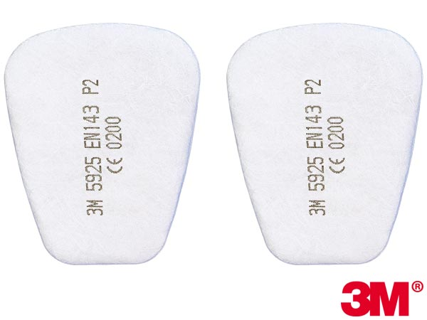 3M Dust Filter For Use With Multi-Gas Respirator