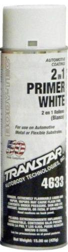 Transtar 2 in 1  White Primer Aerosol 20 oz