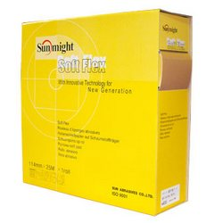 Sunmight Soft Pad Roll (180 - 600 Grit) 114mm X 25m