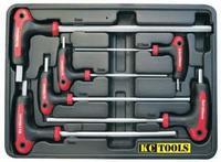 6 Piece T Handle Hex Key Set