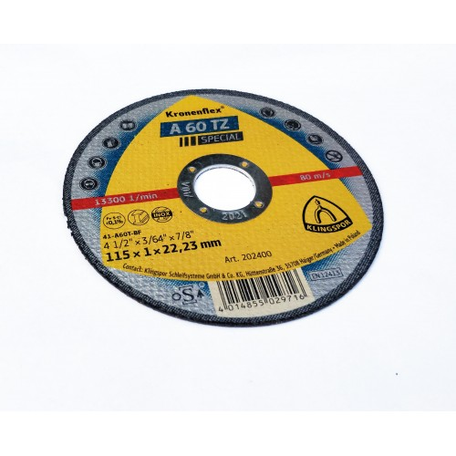 Klingspor 1mm Cutting Wheel - (100mm - 115mm - 125mm)