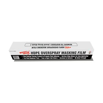 Bodyworx Masking Film: 4.8M X 120M X 10.5UM