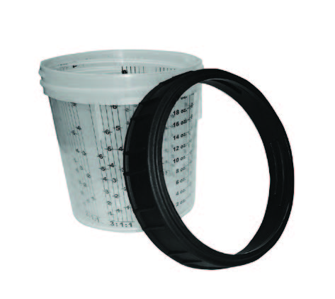 Bodyworx Calibrated Cup - Screw Top Lid