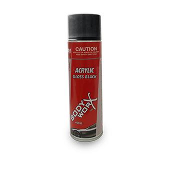 Bodyworx Gloss Black Acrylic Aero 400g