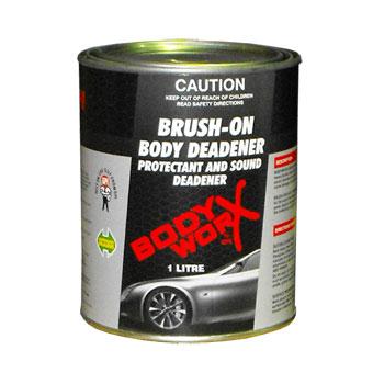 Bodyworx Brush On Body Deadener: 1Lt