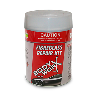 Bodyworx Fiberglass Repair Kit 500g