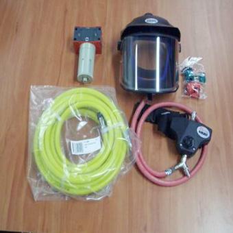 DeVilbiss Visor Complete Unit W/Hose & Filter