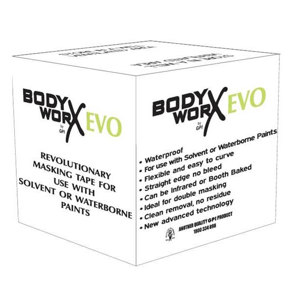 Bodyworx Green Evo Masking Tape