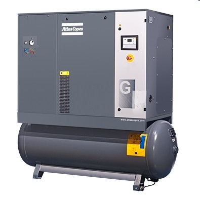 Atlas Copco G18FF – 10BAR Oil Injected Screw Air Compressors