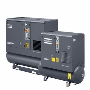 Atlas Copco G3FF-10 Oil Injected Screw Air Compressors