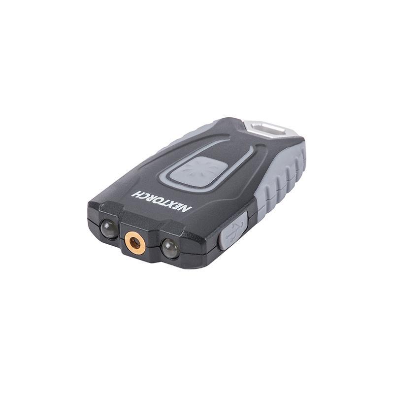 Nextorch Keychain Light Laser: Grey