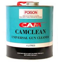 universal spray gun cleaner will remove dried paint restore you gun. Black Bedroom Furniture Sets. Home Design Ideas