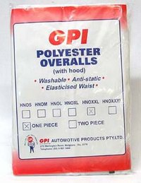 Gpi Tyvek Overall 2 Piece