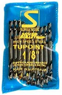 "1/8"" Drill Bits Twin Point Pkt 10"