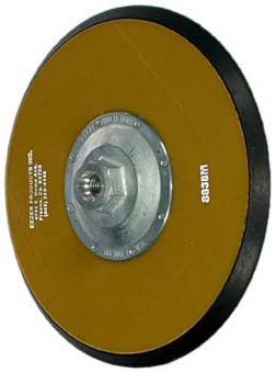 Ezzer 200mm Backing Pad PSA: 14mm Thread