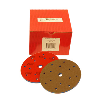 Foam Velcro Disc 15H 150mm(20)