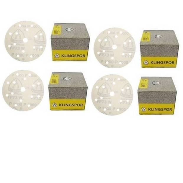 Klingspor Velcro Disc 150mm 4 Box Promo