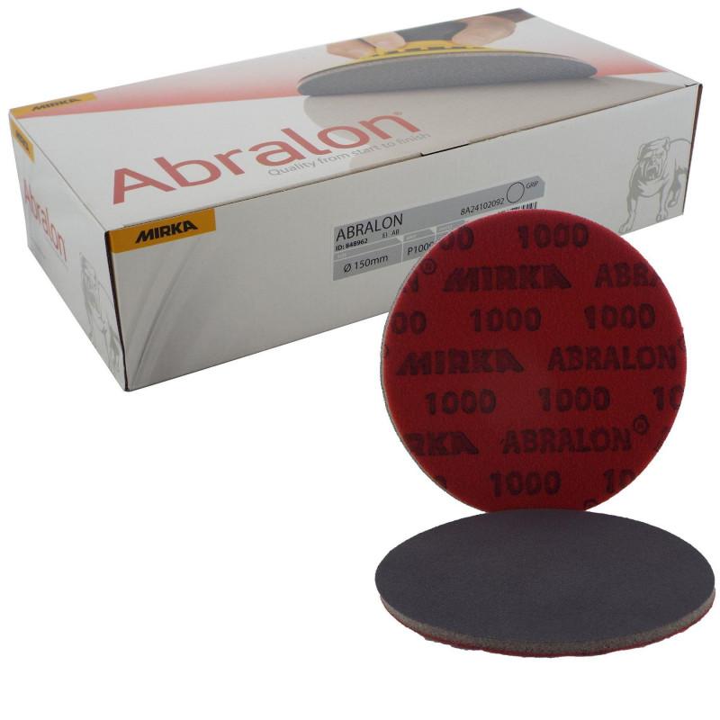Mirka Abralon Disc 150mm - (180 - 4000 grit)