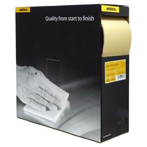 Mirka GoldFlex-Soft Roll 115x125mm Sheets 200 Box