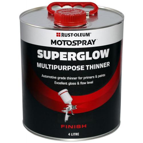 Motospray Superglow Multipurpose Thinner 4LT