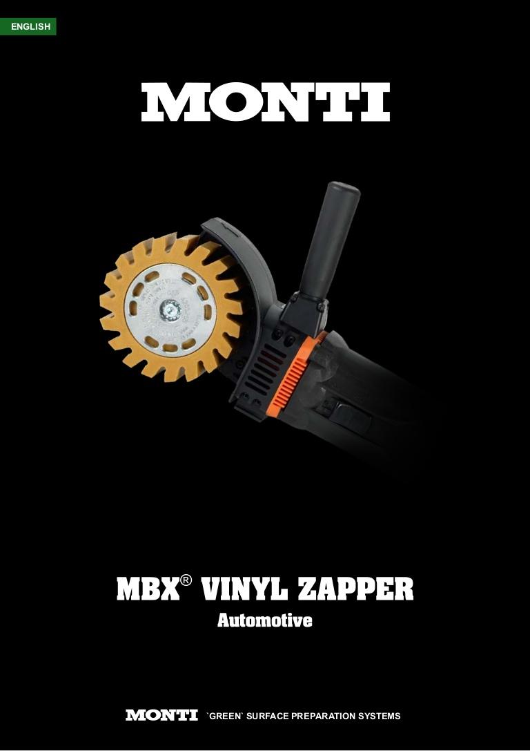 Monti MBX Vynil Zapper