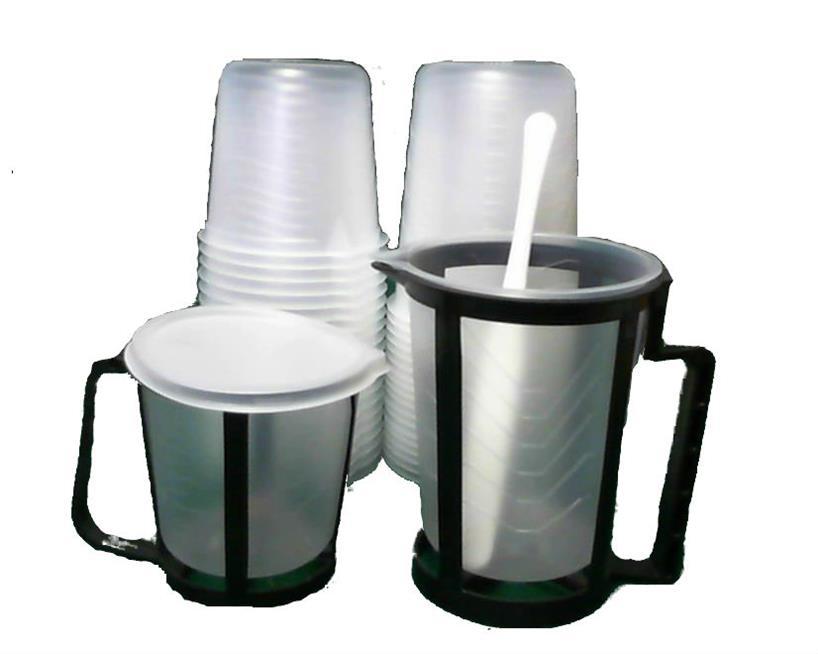Mixing Cups Rigid