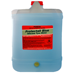 Pacer Protectall Blue Silicone Tyre Shine - 20lt