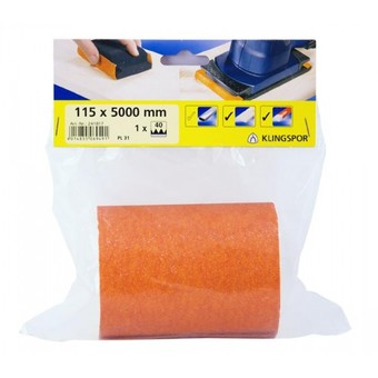 Klingspor DIY Abrasive Roll 115 x 5000