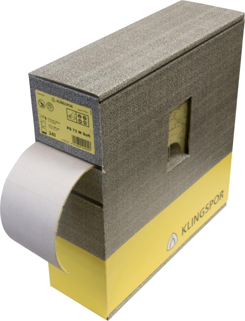 Klingspor PS73 W Foam Backing Roll 115mm