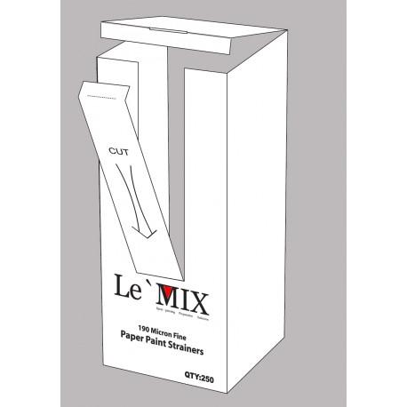 Le'Mix Paper Filter Strainer 190