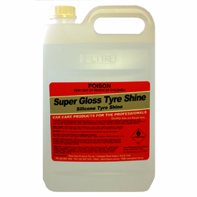 Pacer Super Gloss Tyre Shine - 5lt