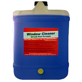 Pacer Streak Free Window Cleaner - 20lt