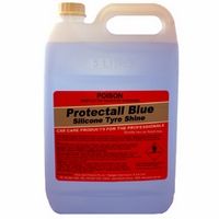 Pacer Protectall Blue Silicone Tyre Shine - 5lt