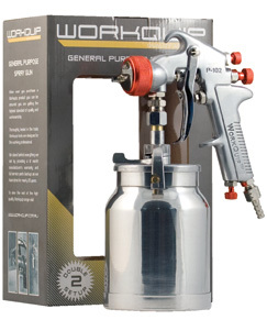 General Purpose Suction Spray Gun