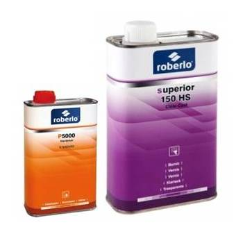 Roberlo Superior 150 HS Clear Coat Kit 7.5lt