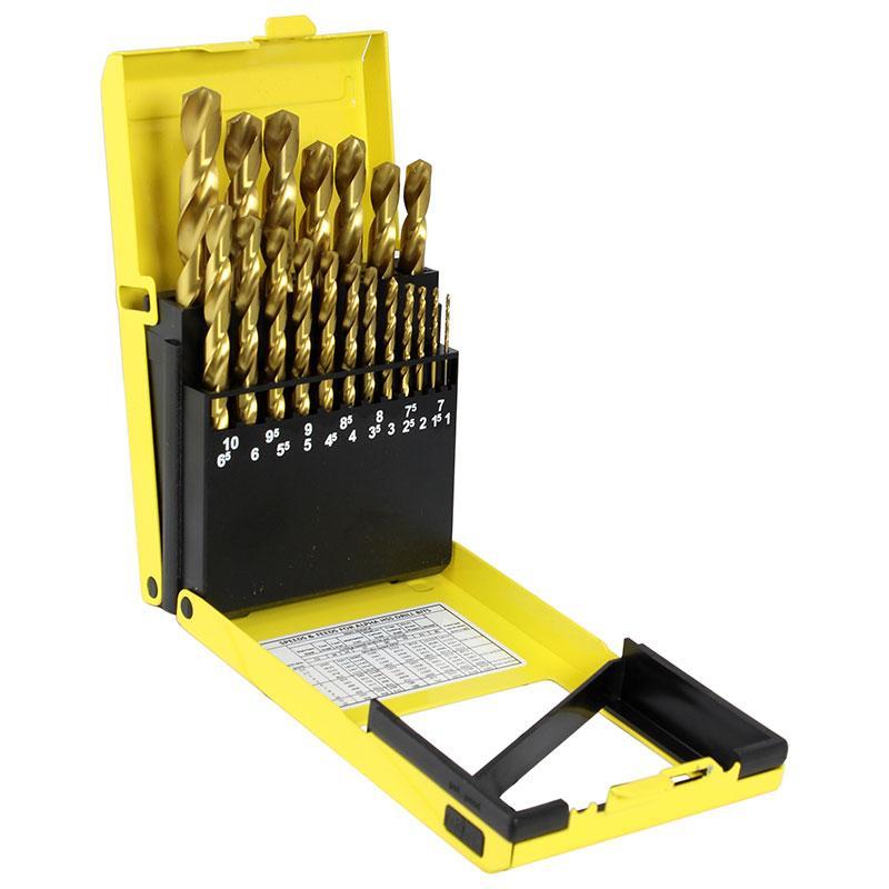 19pc Metric Alpha Slimbox Drill Set 1.0-10.0mm